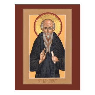 St. Benedict Prayer Card Post Card