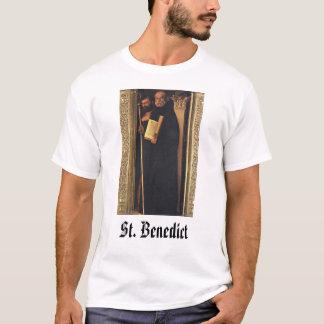 St Benedict, St. Benedict T-Shirt