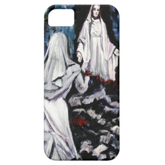 St Bernadette at the Grotto iPhone 5 Case