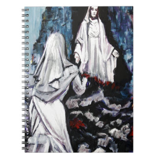 St Bernadette at the Grotto Notebook