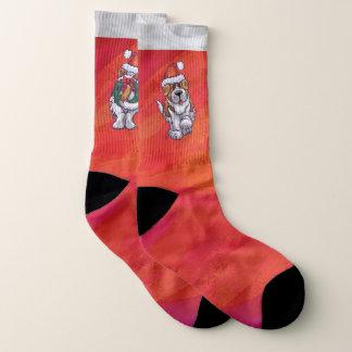 St. Bernard Christmas Feet 1