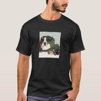 St Bernard Christmas Shirt
