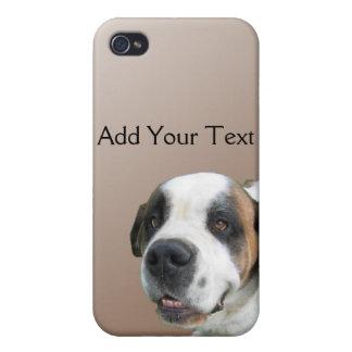 St Bernard de sourire sur Brown Coques iPhone 4/4S