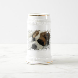 St Bernard Dog Beer Stein