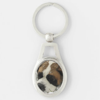 St Bernard Dog Keychains