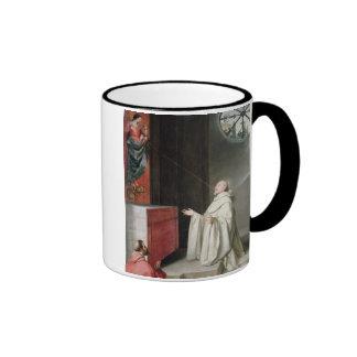 St Bernard et la Vierge Tasse À Café
