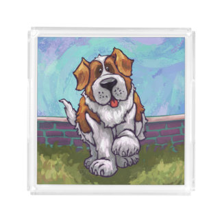 St. Bernard Gifts & Accessories Acrylic Tray