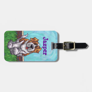St. Bernard Gifts & Accessories Luggage Tag