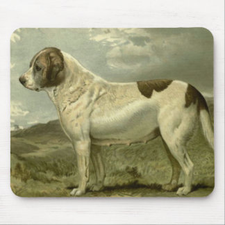 St Bernard in the 1800s Mouse Pad
