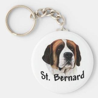 St Bernard Keychain