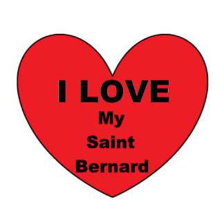 st bernard love photo sculpture keychain