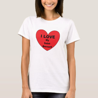 st bernard love T-Shirt