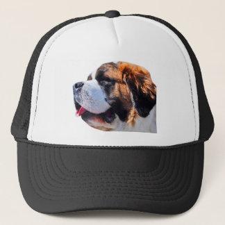 St bernard trucker hat