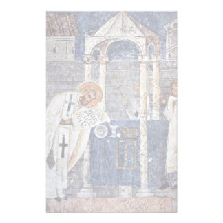 St. Blaise The Great By Meister Der Sophien-Kathed Personalized Stationery