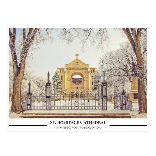 St. Boniface Catherdral Postcard