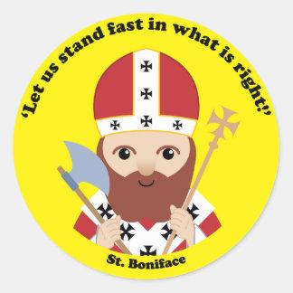 St. Boniface Classic Round Sticker