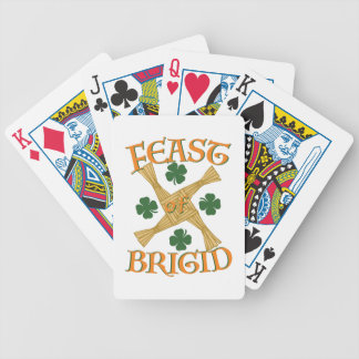 St. Brigids Cross Poker Deck
