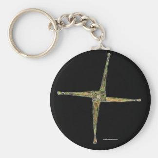 St Brigid's Day, St Bridget's Cross,  Keychain, Keychain