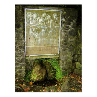 St. Brigids Holy Well, The Valley (Park), Kilculle Postcard