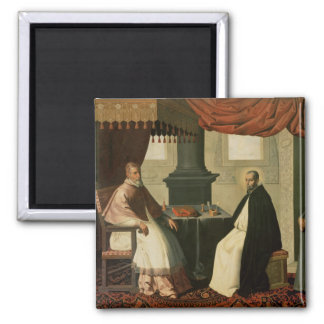St. Bruno  and Pope Urban II  1630-35 Magnet