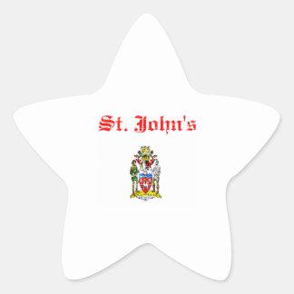 St Canada designs Star Sticker