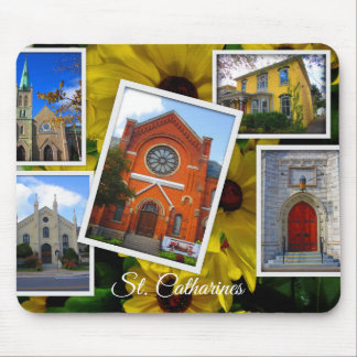 St. Catharines Downtown Photo Collage Mouse Pad