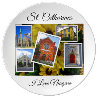 St. Catharines Photo Collage Plate