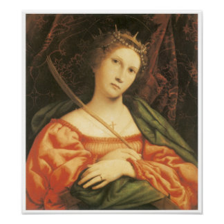 St Catherine 1552 Poster