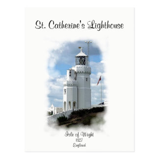 St. Catherine's Lighthouse Postcard