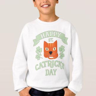St Catrick's Day Cat St Patrick's Day Sweatshirt