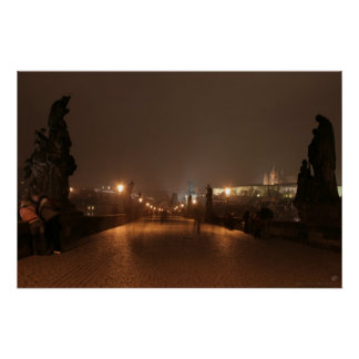 St. Charles Bridge, Prague Poster