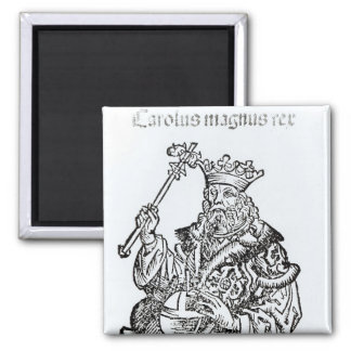 St. Charles  from 'Liber Chronicarum' Magnet