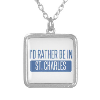 St. Charles Silver Plated Necklace