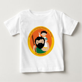 St. Christopher Baby T-Shirt