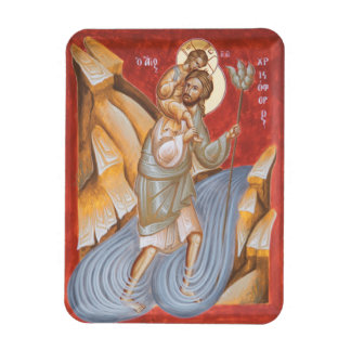 St Christopher Icon Magnet