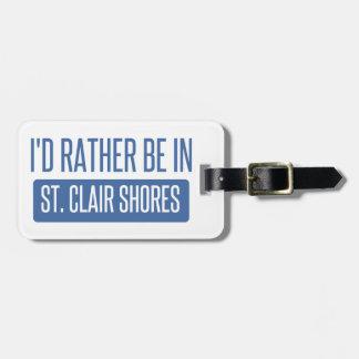 St. Clair Shores Bag Tag