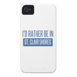 St. Clair Shores iPhone 4 Case-Mate Case