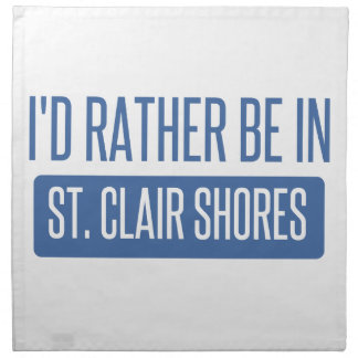 St. Clair Shores Napkin
