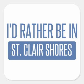 St. Clair Shores Square Sticker