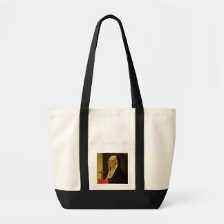 St Clare c 1485-90 tempera on panel Canvas Bags