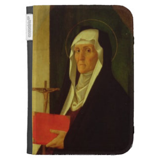 St Clare c 1485-90 tempera on panel Kindle Covers