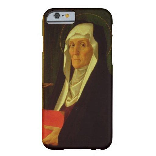 St. Clare, c.1485-90 (tempera on panel) iPhone 6 Case