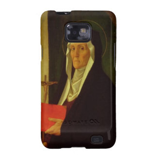 St. Clare, c.1485-90 (tempera on panel) Samsung Galaxy SII Case
