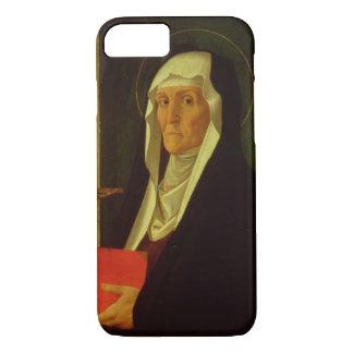 St. Clare, c.1485-90 (tempera on panel) iPhone 7 Case
