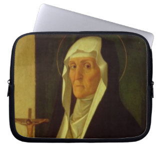 St Clare c 1485-90 tempera on panel Computer Sleeves