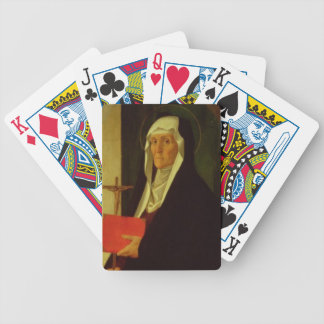 St. Clare, c.1485-90 (tempera on panel) Bicycle Card Deck