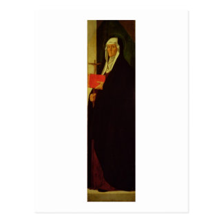 St. Clare, c.1485-90 (tempera on panel) Postcard