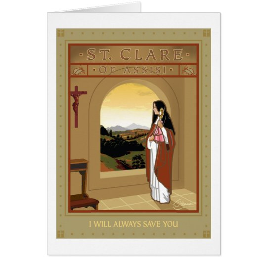 ST. CLARE CARD