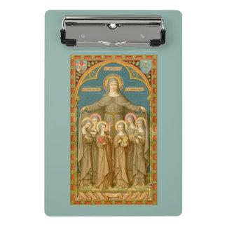 St. Clare of Assisi & Nuns (SAU 27) Mini Clipboard