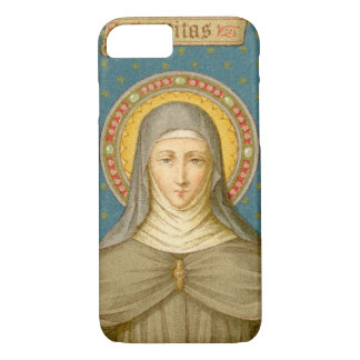 St. Clare of Assisi (SAU 027) Barely There iPhone 8/7 Case